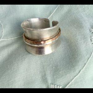 Artisan Sterling & Copper Ring